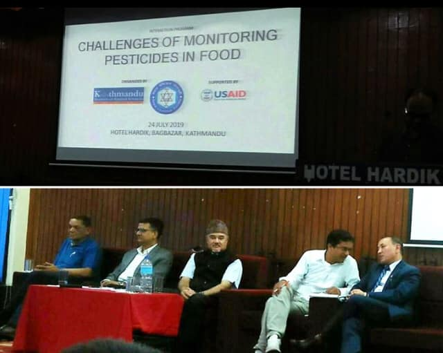 Interaction Program on Challenges on Monitoring Pesticides Residue in Food